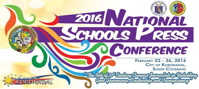 City of Koronadal to host 2016 National Schools Press Conference