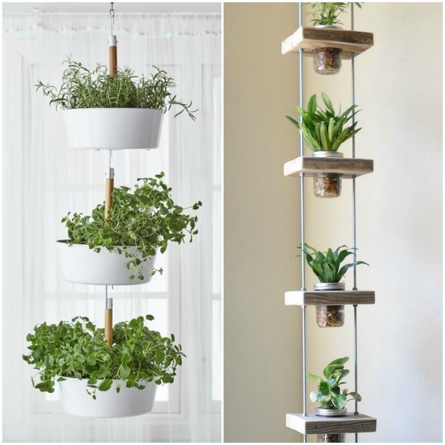 13 estupendas maneras para colgar tus plantas decoraci n