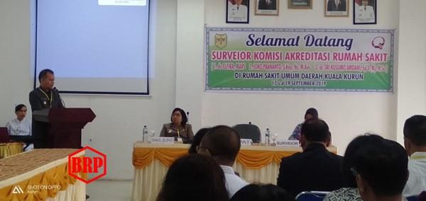 Bupati Jaya S Monong Dukung Akreditasi untuk Tingkatkan Mutu RSUD Kurun