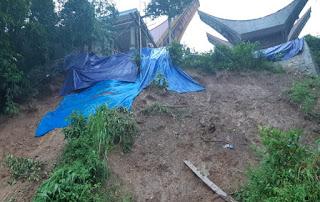 Longsor di Pallawa, Akses Menuju Kecamatan Sa'dan Tertimbun Material