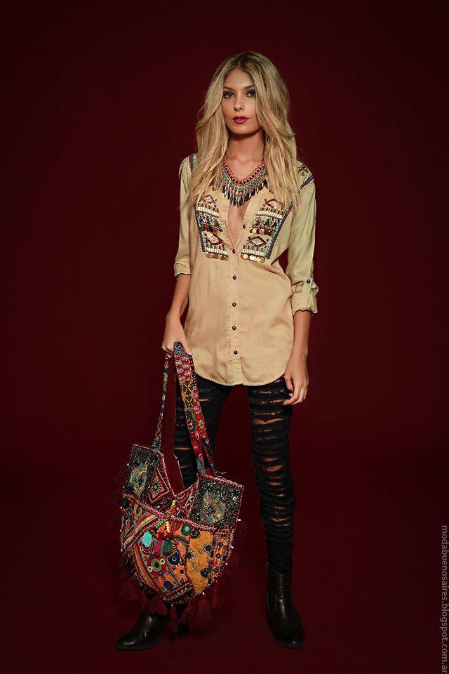 Camisas invierno 2016 ropa de moda mujer Sophya marca argentina moda 2016.