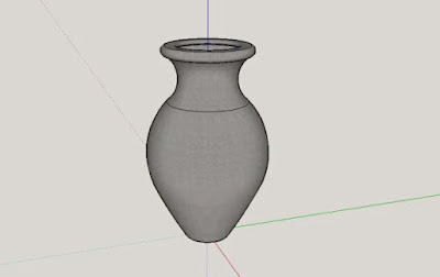 Sketchup Tutorial Make Vase