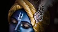 Krishna Amoled Mobile Wallpaper