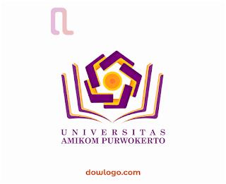 Logo Universitas AMIKOM Purwokerto (Portrait) Vector Format CDR, PNG