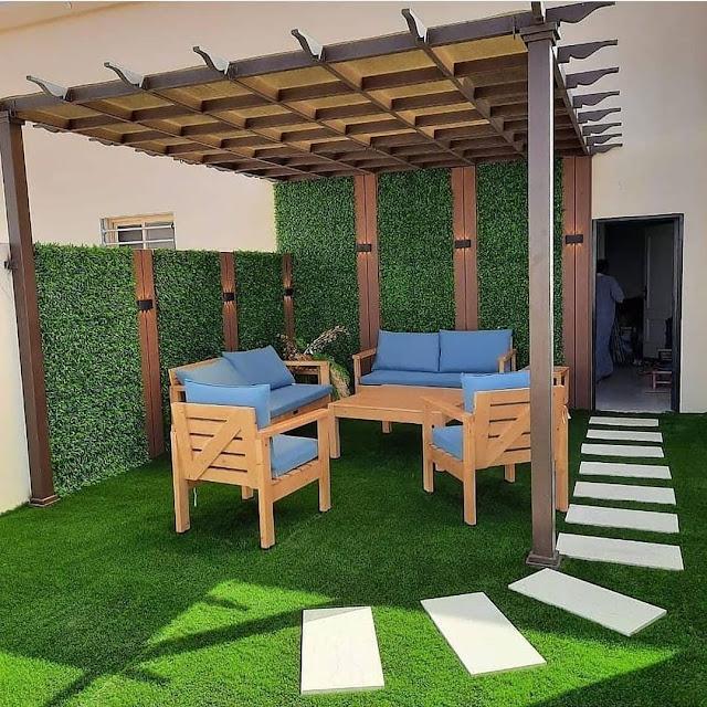 تصميم حدائق الاستراحات بمسقط - سلطنة عمان وتركيب احدث المظلات وعمل شلالات مضيئة تركيب مظلات حدائق