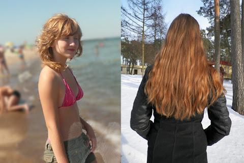 Powrót do naturalnego koloru włosów Angeliki - czytaj dalej »