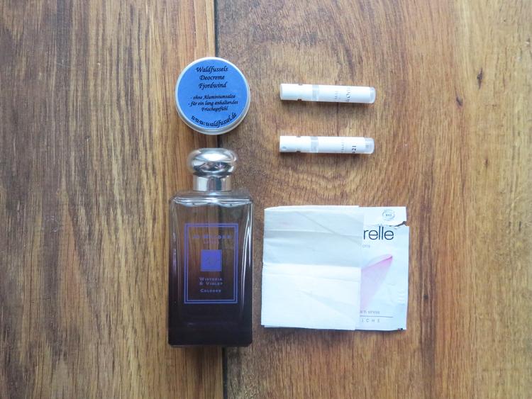 Deocreme und Parfüms der letzten vier Monate