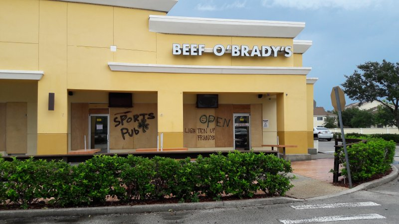 Beef O'Brady's, Murrell Road and Viera Blvd.