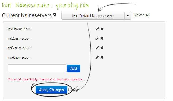 name-default-nameservers