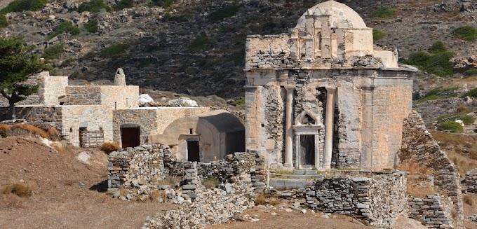 Σίκινος :Ασύλητος τάφος επιφανούς γυναίκας ήρθε στο φως στην Επισκοπή