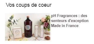pH Fragrances coup de coeur Inspilia