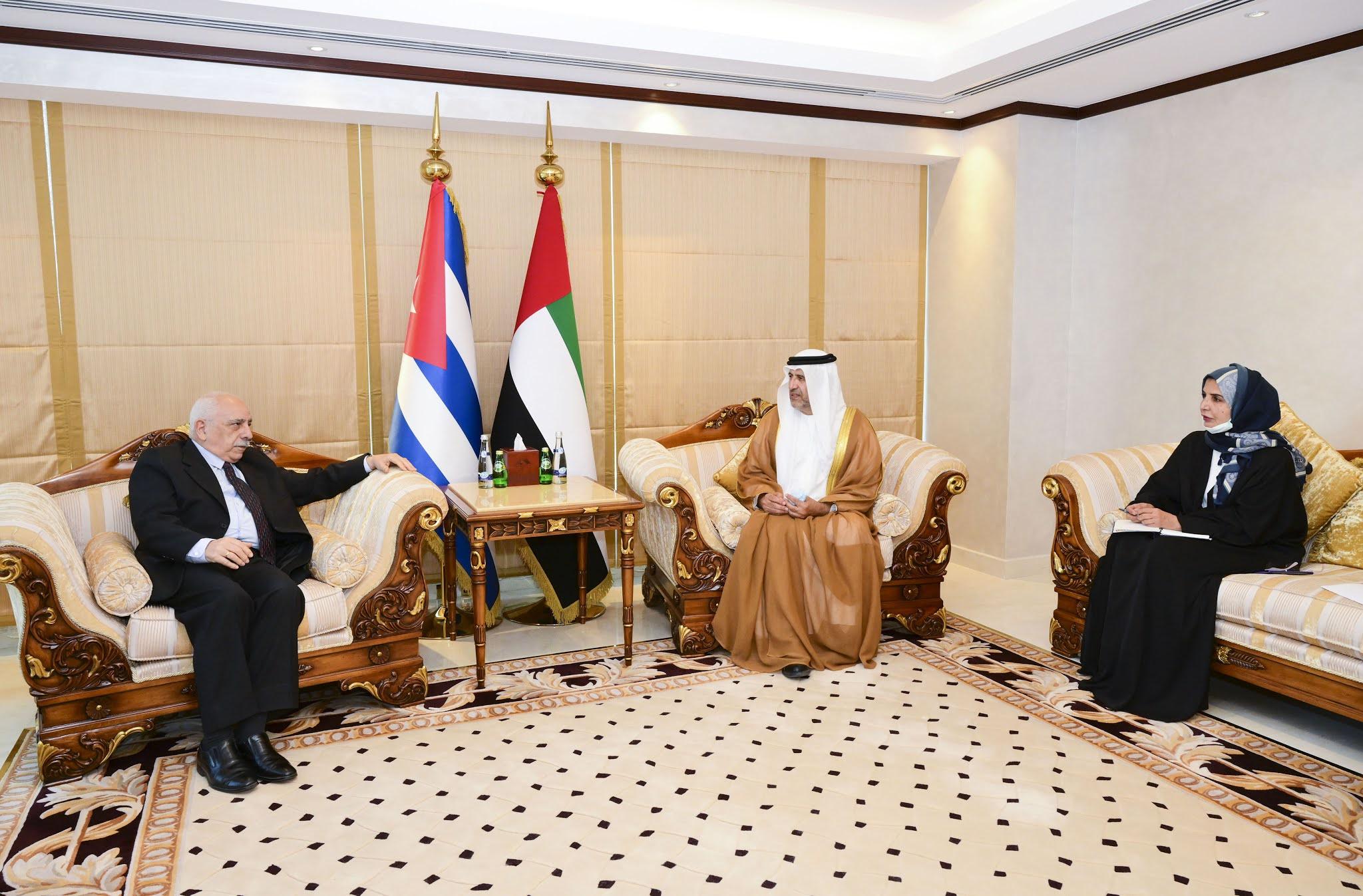 UAE - Cuba discuss parliamentary affairs