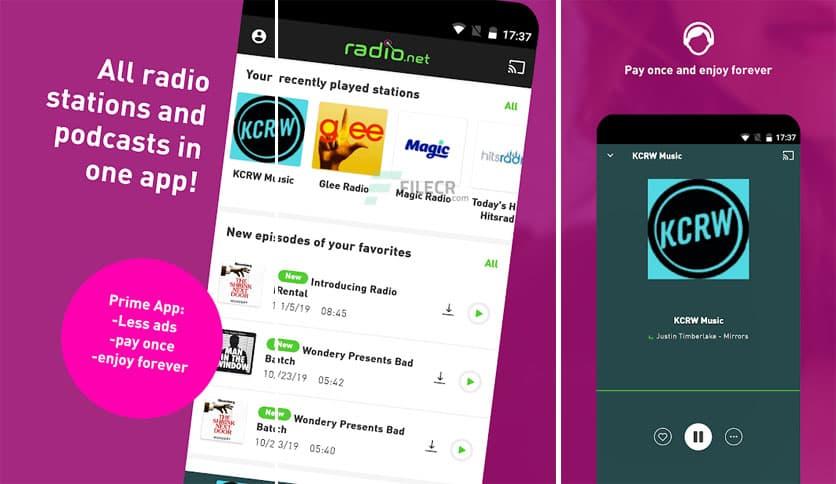Aplicatie Radio online premium