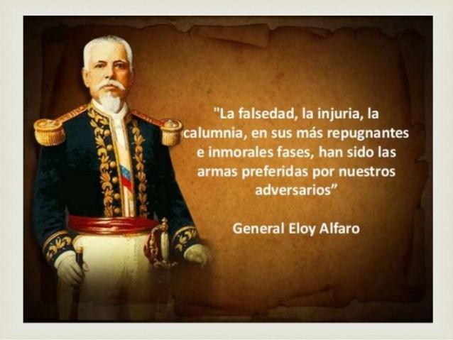Personaje Emblemático Presidente Eloy Alfaro Delgado 2018