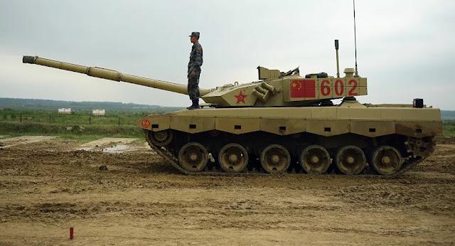 Novíssimo tanque da China super-resistente