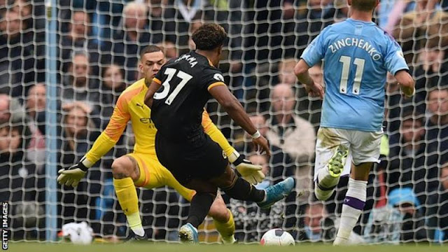 EPL: Manchester City adrift eight point after surprise lose to Wolves
