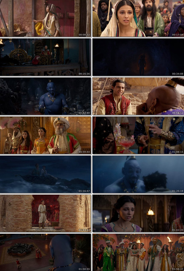 Download Aladdin 2019 Dual Audio Hindi BluRay 480p 400MB ESubs movie