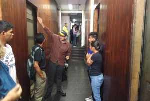 Protestan por cuatro invasiones en el centro de Caracas en tan solo una semana