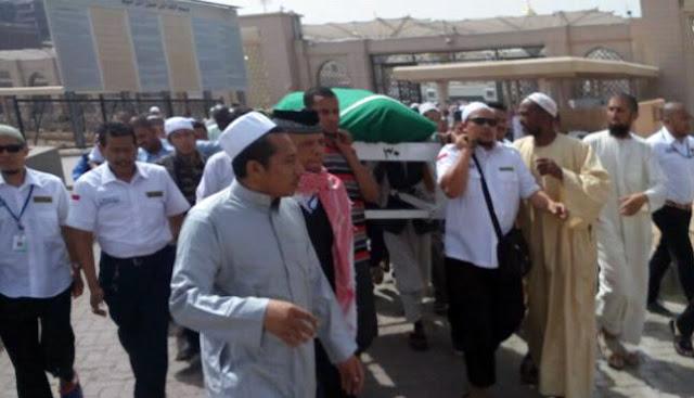 Jamaah Haji Indonesia Yang Hilang Itu Ditemukan Meninggal Dunia di Sebelah Makam