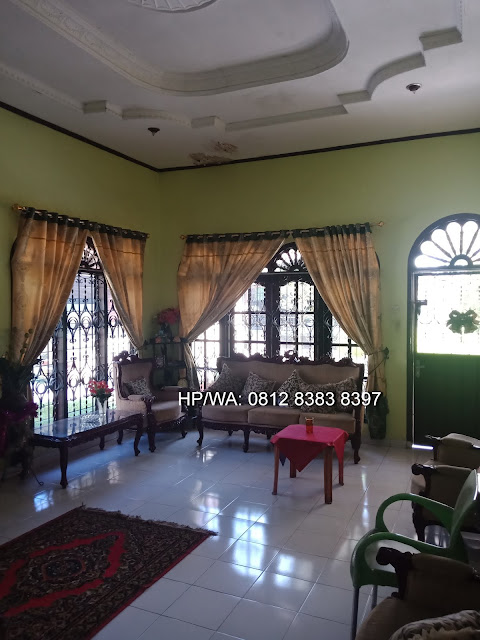 Ruang tamu rumah dengan luas tanah 800 m2 di Jl. Makmur Kp. Lalang Medan Helvetia Sumatera Utara