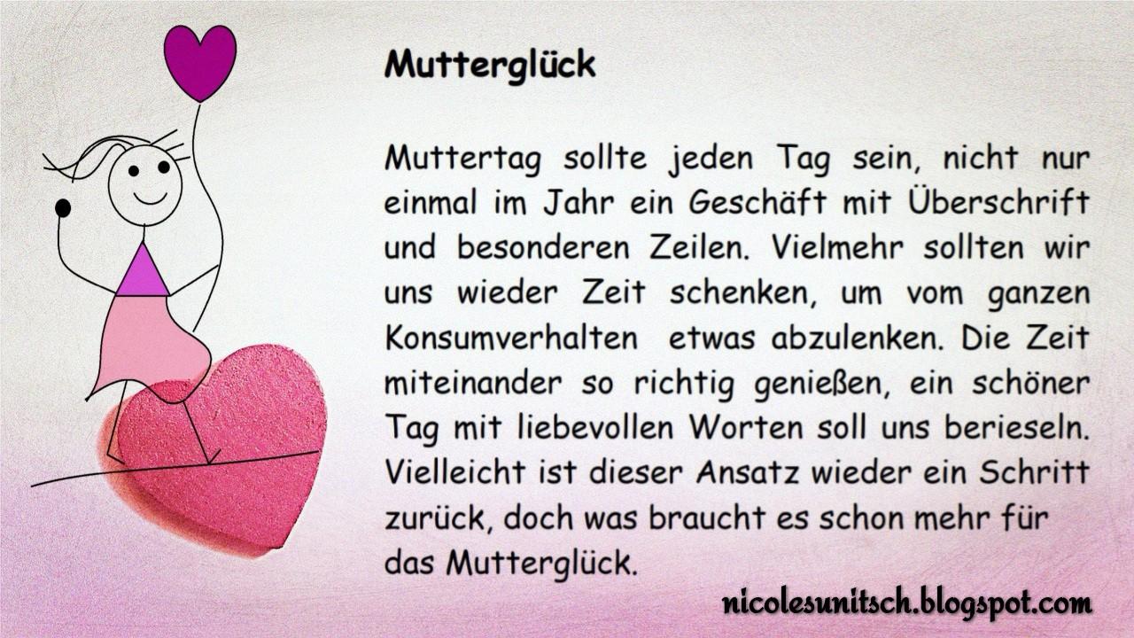 Gedichte Von Nicole Sunitsch Autorin Muttergluck Gedicht Von