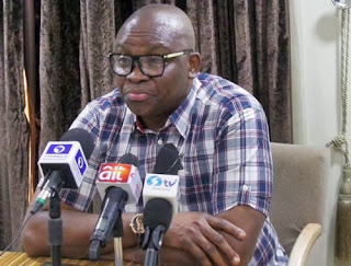 Why I Can't Go and Greet Buhari - Fayose Insists Buhari Went into Coma and Should Resign
