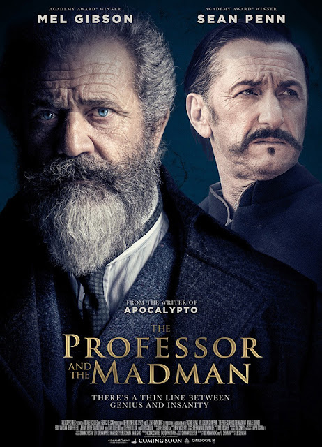 The Professor and the Madman. 2019. Oxford English Dictionary. Mel Gibson. Sean Penn