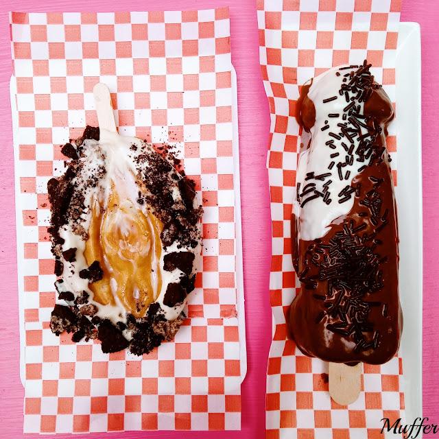 Funny Waffles - Chochoffle Rubia y Polloffle Moreno