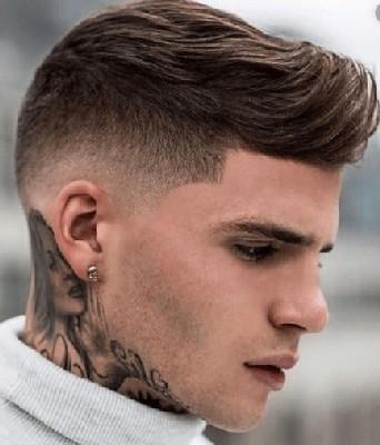 model rambut pria kantoran