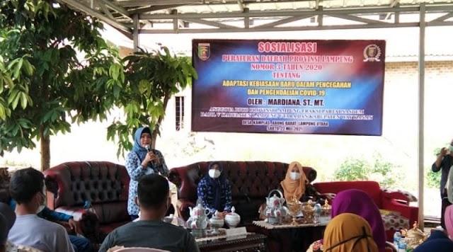 Anggota DPRD Lampung Mardiana Sosperda Nomor 3 Tahun 2020 di Kamplas