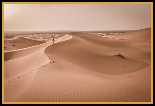 Barren, Desert, Dune, Hot