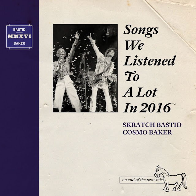 SKRATCH BASTID UND COSMO BAKER MIXTAPE |  Songs We Listened To A lot In 2016 - Free Download