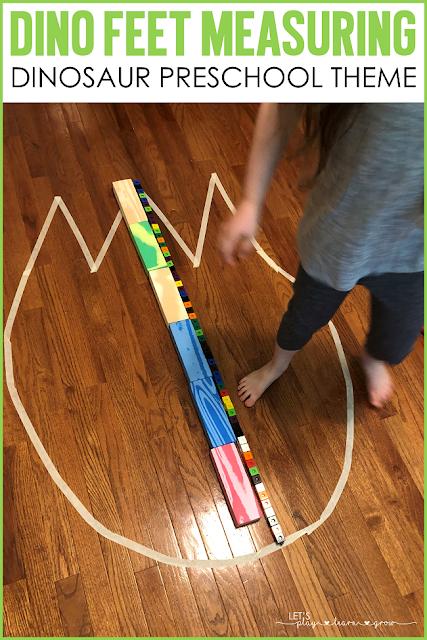 Nonstandard Measuring with Dinosaur Tracks