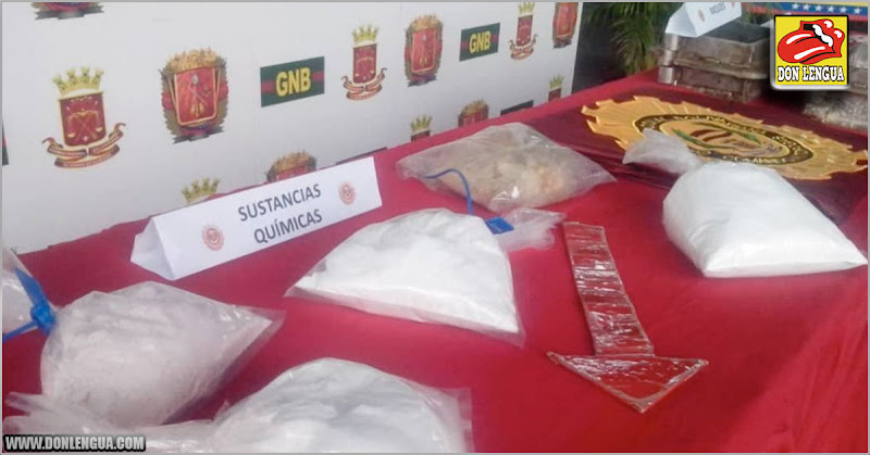 NarcoEstado : Solo en el Zulia incautaron 23.853 kilos de droga