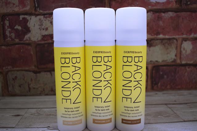 Everpro Beauty Back 2 Blonde temporary root concealer spray