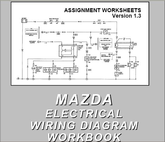mazda 323 wiring diagram free download  more wiring