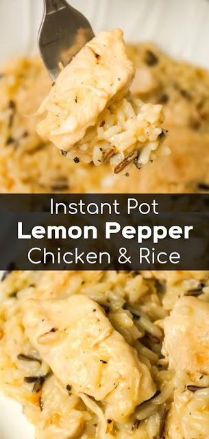 Instant Pot Lemon Pepper Chicken and Rice