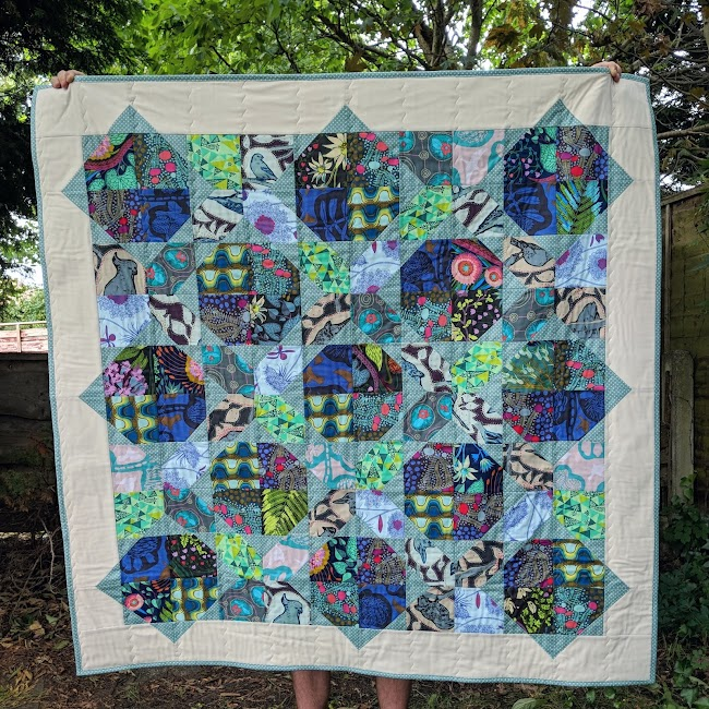 Four Patch Flip quilt Anna Maria Horner Sweet Dreams