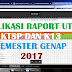 Aplikasi Raport Ulangan tengah Semester KTSP dan K13