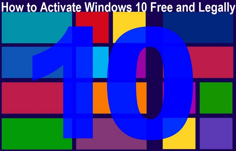 How to Activate Windows 10 Free and Legally