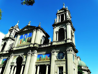 Fachada e Torres da Catedral Metropolitana de Porto Alegre