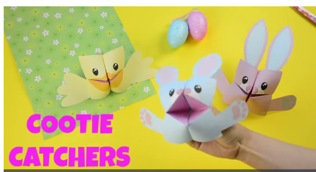easter cootie catchers de ingl 233 s de amparo easter cootie catchers 1916