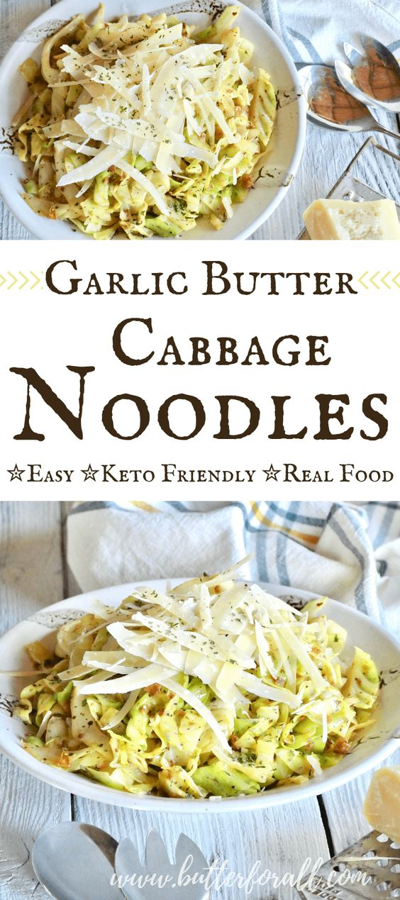 Easy Garlic Butter Cabbage Noodles
