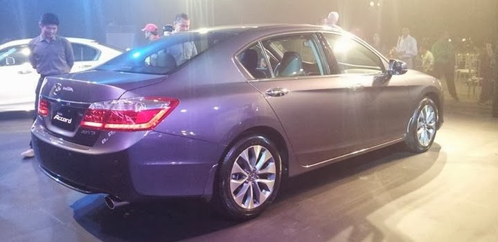 Honda Accord Rear