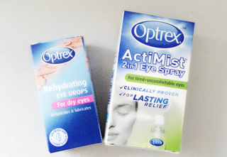 rex, Optrex Actimist, Optrex Rehydrating Eye Drops, Urban Eyes, Dry Eyes, Eye Care