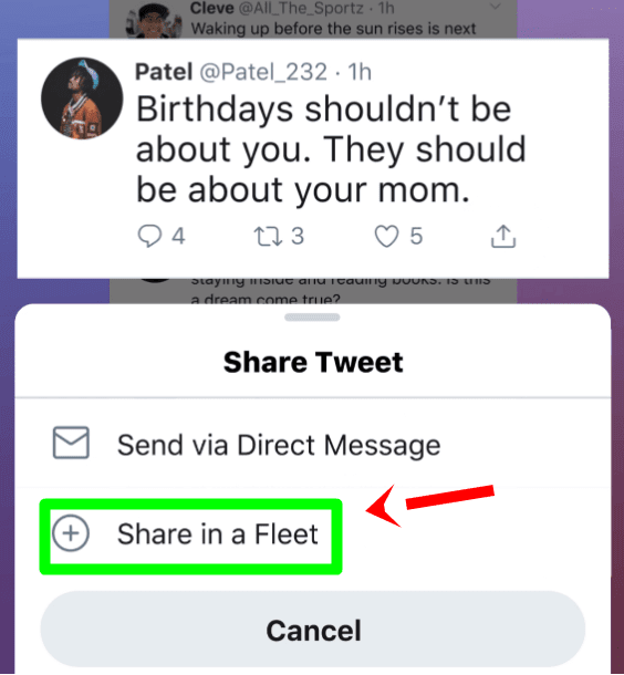 Fleets Introduced On Twitter
