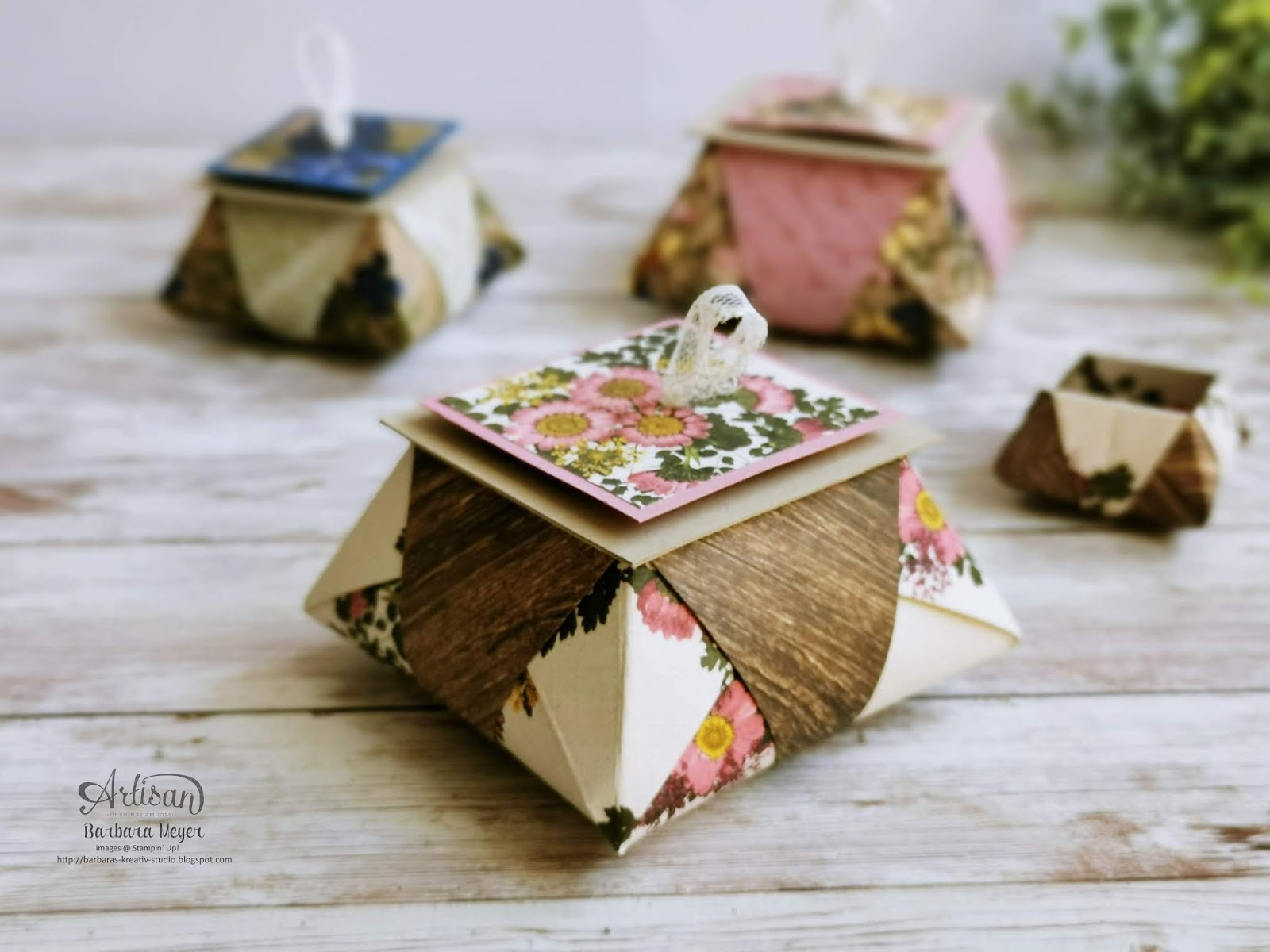 Origami Star Box Photo Tutorial - Paper Kawaii | 1200x1600