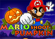Mario Shoot Pumkin