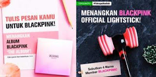 Give Away Blackpink di Tokopedia