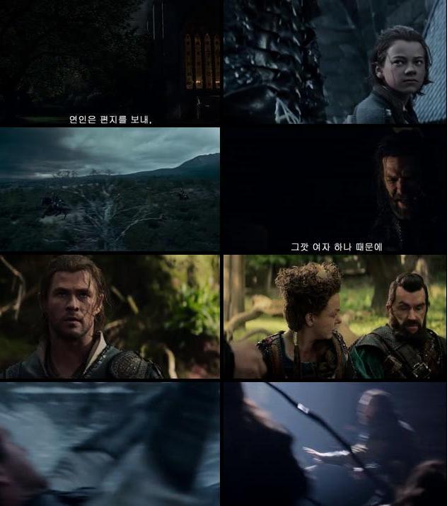 The Huntsman Winters War 2016 English 720p HDRip